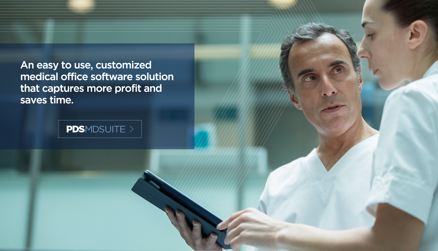 An easy to use, customized medical office software solution that captures more profit and saves time.